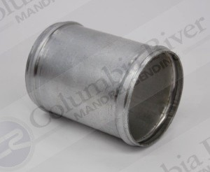 "Intercooler Coupler - 1.25"" OD, Aluminum, 16 gauge, 3.00"" long"